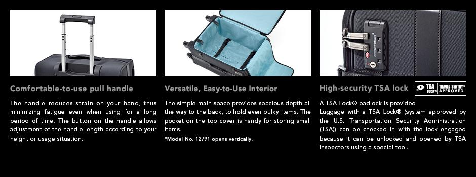 GENTRY Official Proteca Site (Ace Suitcases Manufactured in